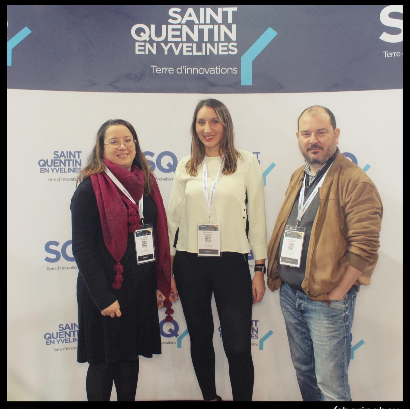 L'équipe MonParcoursEntreprise au SQY Business Day