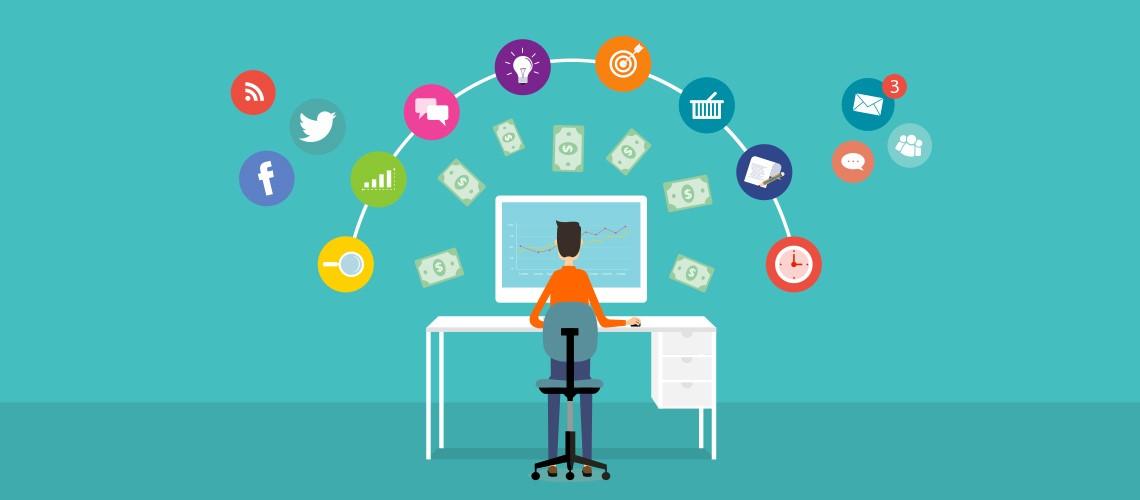 stratégie commerciale sur les réseaux sociaux